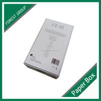 PLAIN CARDBOARD PACKAGING JEWELLRY GIFT BOX LID AND BOTTOM SHAPE
