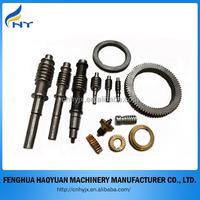 custom made cnc machning brass worm gear
