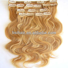 Alibaba Guarantee Wholesale Top Quality Human Hair Extension,8A Thick Remy Virgin Unprocessed banana clips hair