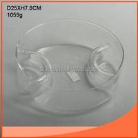 glass salad bowl for fruit and vegetable storage