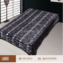 Hot-sale branded 190t brush thin polyester quilt/blanket
