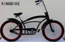 "24"" chopper bike look fat tyre beach cruiser bicycle"