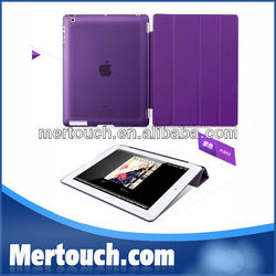 Luxury Flexible for ipad case leather stand smart cover