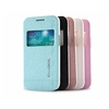 KLD Iceland II Series Window View Leather Covers for Samsung Galaxy Trend 3 G3502