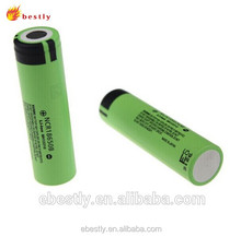 Factory directly selling 18650 battery 3.7V 3000mAh lithium ion battery ,rechargeable 3.7v cylinder lithium ion battery