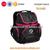 high quality 600d polyester soft sport back pack bags