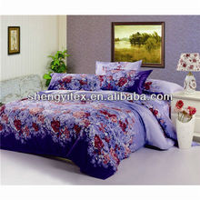 100% polyester brushed fabric microfiber fabric for bedding set