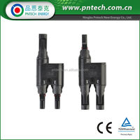 T Branch MC4 Solar Connector Y Type MC4 Connector PV004-T TUV approved