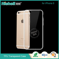 transparent TPU for apple 6s case