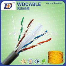 Fluke test passed cat6 utp 0.575mm ccam network cable
