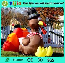 Giant outdoor advertising inflatable bird