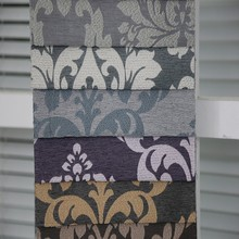 Fancy grommet french office jacquard curtain fabric for new curtain styles