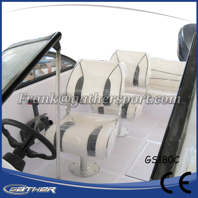 GATHER 5.5M FIBERGLASS SPORT BOAT GS180C-015