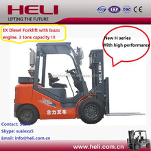 Heli Brand Diesel Engine 3T Explosion Proof Forklift Truck