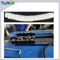 Manufacturer of plastic corrugated tubes forming making machine made of PA PE PP PVC EVA extrusion line