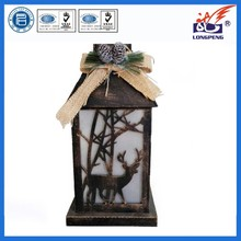 2015 New Design LED Lighted Lantern for Holiday Decoration