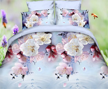 Printed,Sateen Style and Duvet Cover Set Type Reactive printed bedding set