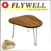 Triangle Household Folding Desk Wooden Coffee Table