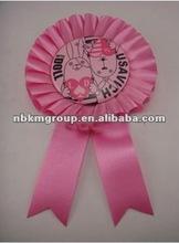 2012 Fashion ribbon button badge