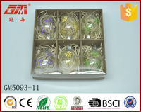 2015 new design decorative clear Easter egg