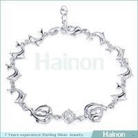 2015 Best seller trends many dolphin bracelets jewelry