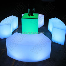 LED Lighting stool / Outdoor LED light chair stool with 16 colors