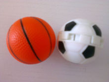 China OEM soccer car air freshener color and scent may vary, private LOGO