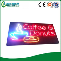 new products 24hrs ATM led sign shop;store sign board led light;supermarket and so on usage open acrylic led edge lit led advert