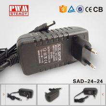 power adapter for modem 25W 24v switch power supply With CE power adapter