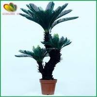 factory price artificial cycas revoluta more heads bonsai for sale