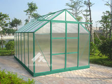 Widely used greenhouse large polycarbonate aluminium frame construction HX65120G-1 Series