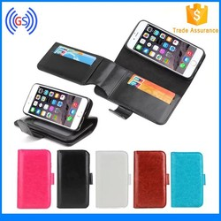 Alibaba ID Card Slot Holder Wallet Pouch Leather Case Phone for Nokia xl