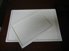 promotion Plastic non-slip airline bulk fast food serving trays