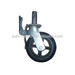 "scaffold caster wheel with 6"",8"",10"""