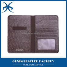 PU Passport holder travel holder document holder money clip ticket bag china leather factory wholesales price