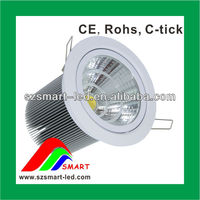 Adjustable recessed 30w led recessed downlight