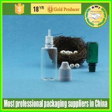 manufacture PE oval childproof tamper cap eliquid dropper bottle 20ml PET plastic dropper bottle eliquid dropper bottle