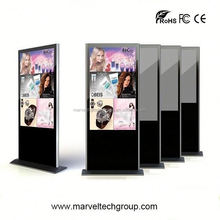 """Stand alone indoor wireless wifi 42"""" 1080p digital signage with stand alone"""