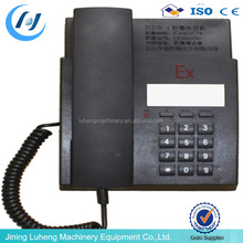 Promotion!!!IP54 Protection grade HDB-1 explosion-proof telephone with best price