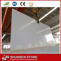 China Hot Sell Cheap Price Pure White Quartz 2cm & 3cm Slab