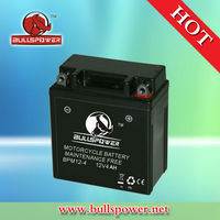 yb5l-b electric motorcycle battery pack,12v 4ah battery for motorcycle