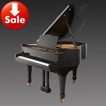 Free Shipping!!! 88 Key Flexible Piano Keyboard Black Polish Acoustic Baby Grand Piano HG-152E