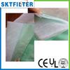 Synthetic fiber filter bag pocket filter media for spray booth