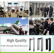 High security 6 Zone walk through metal detector