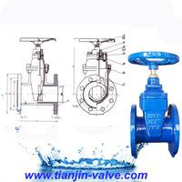 ductile iron gate valve stem cap