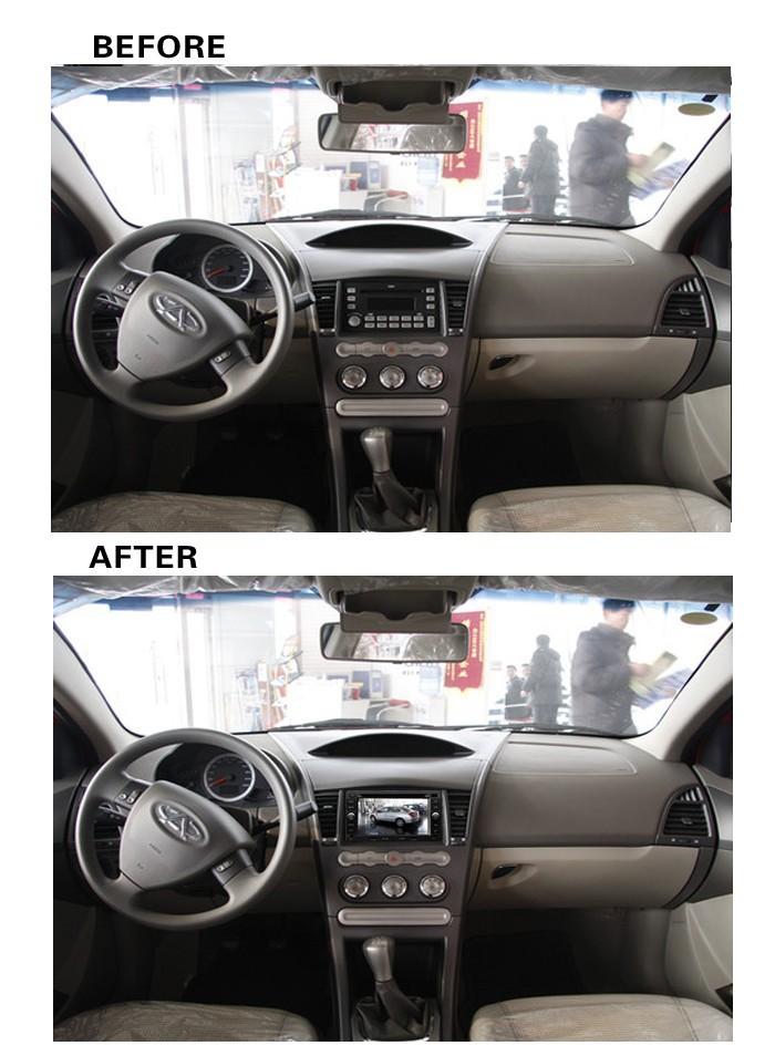 высокое качество автомобилей dvd для chery a3 a5 tiggo построен в gps navi навигации ipod радио dvd плеер обратно