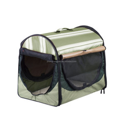 Roll up Curtain Design Pet Cage Dog Carrier