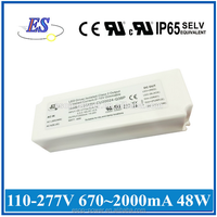 68W 2.8A 24V AC-DC Constant Current LED Driver with 3 in 1 Dimmer