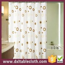 colorful shower curtain home use pvc shower curtain