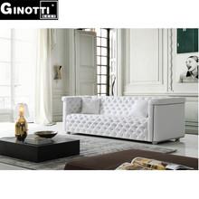White Chesterfield sofa fabric GPS1081 Italian Chesterfiled sofa